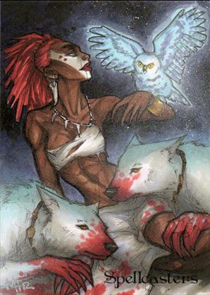 Spellcasters Sketch Card - Meghan Hetrick 4