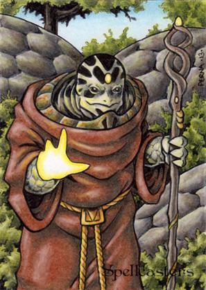 Spellcasters Sketch Card - Tony Perna 1