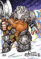 Dwarf - Jason A. Saldajeno by Pernastudios