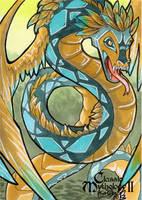 Quetzalcoatl - Stacey Kardash by Pernastudios