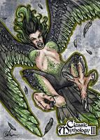 Harpy - Samantha Johnson by Pernastudios