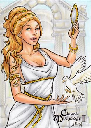 Aphrodite - Amy Clark by Pernastudios