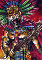 Tezcatlipoca - Chris Meeks by Pernastudios