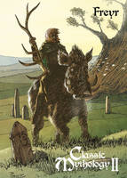 Freyr Base Card Art - Richard Pace by Pernastudios