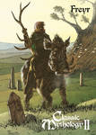 Freyr Base Card Art - Richard Pace