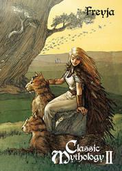 Freyja Base Card Art - Richard Pace by Pernastudios