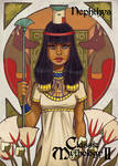 Nephthys Base Card Art - Chrissie Zullo