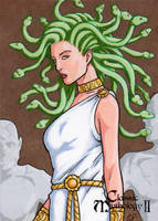 Medusa - Elaine Perna by Pernastudios