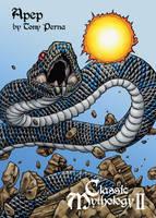 Apep Clear Card Art - Tony Perna by Pernastudios