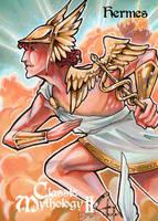 Hermes Metal Card Art - Stacey Kardash by Pernastudios
