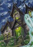 Hallowe'en Sketch Card - Mel Uran 3