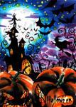 Hallowe'en Sketch Card - Achilleas Kokkinakis 2