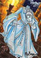 Hallowe'en Sketch Card - Molly Brewer 2 by Pernastudios