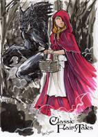 Little Red Riding Hood - Vince Sunico by Pernastudios