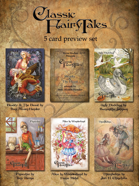 Classic Fairy Tales - Preview Set by Pernastudios