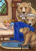 Goldilocks and the Three Bears - Molly Brewer by Pernastudios