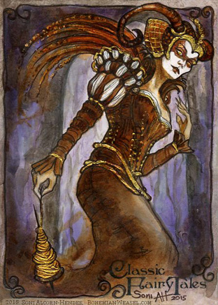 Sleeping Beauty Fairy - Soni Alcorn-Hender by Pernastudios on DeviantArt
