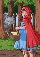 Little Red Riding Hood - Elaine Perna by Pernastudios
