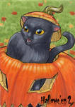 Hallowe'en 2 Sketch Card - Jeena Pepersack 1