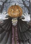 Hallowe'en 2 Sketch Card - Athina Poda 3