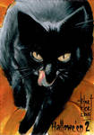 Hallowe'en 2 Sketch Card - Francois Chartier 2