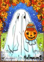 Hallowe'en 2 Sketch Card - Anastasia Catris 2 by Pernastudios