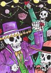 Hallowe'en 2 Sketch Card - Jason Sobol 1