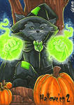 Hallowe'en 2 Sketch Card - Lynne Anderson 2