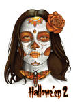 Day of the Dead Metal Chase Card Art - Sean Pence
