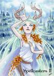 Spellcasters II Sketch Card - Jeena Pepersack 2