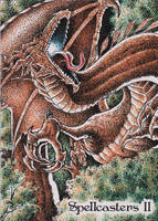 Spellcasters II Sketch Card - Norvien Basio 1 by Pernastudios
