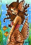 Spellcasters II Sketch Card - Anastasia Catris 3