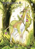 Unicorn Chase Card Art by Samantha Johnson by Pernastudios