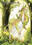 Unicorn Chase Card Art by Samantha Johnson