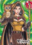 Witchcraft Sketch Card - Jofel Cube 1