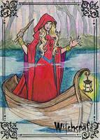 Witchcraft Sketch Card - Priscilla Petraites 3 by Pernastudios