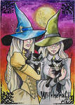 Witchcraft Sketch Card - Priscilla Petraites 1