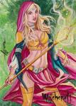 Witchcraft Sketch Card - Alcione Silva 3
