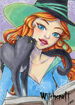 Witchcraft Sketch Card - Jeena Pepersack 1