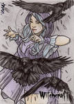 Witchcraft Sketch Card - Andre Toma 1