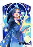 Witchcraft Sketch Card - Hanie Mohd 3