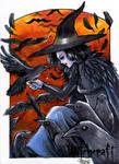 Witchcraft Sketch Card - Hanie Mohd 2