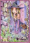 Witchcraft Sketch Card - Helga Wojik 2