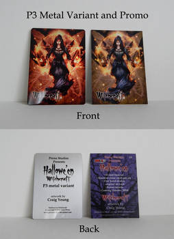 Witchcraft P3 Promo + Metal Variant SOLD OUT