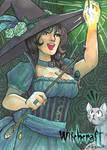 Witchcraft Sketch Card - Danielle Ellison 1