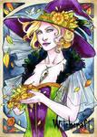 Witchcraft Sketch Card - Samantha Johnson 1