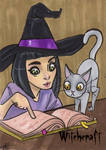 Witchcraft Sketch Card - Jessica Hickman 2