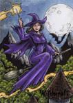 Witchcraft Sketch Card - Tony Perna 1