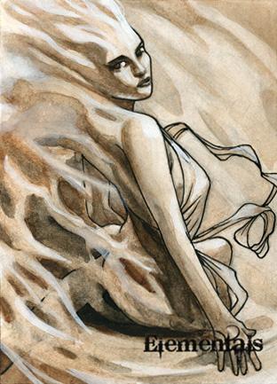 Elementals Sketch Card - Craig Yeung 2 by Pernastudios
