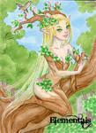 Elementals Sketch Card - Jeena Pepersack 2